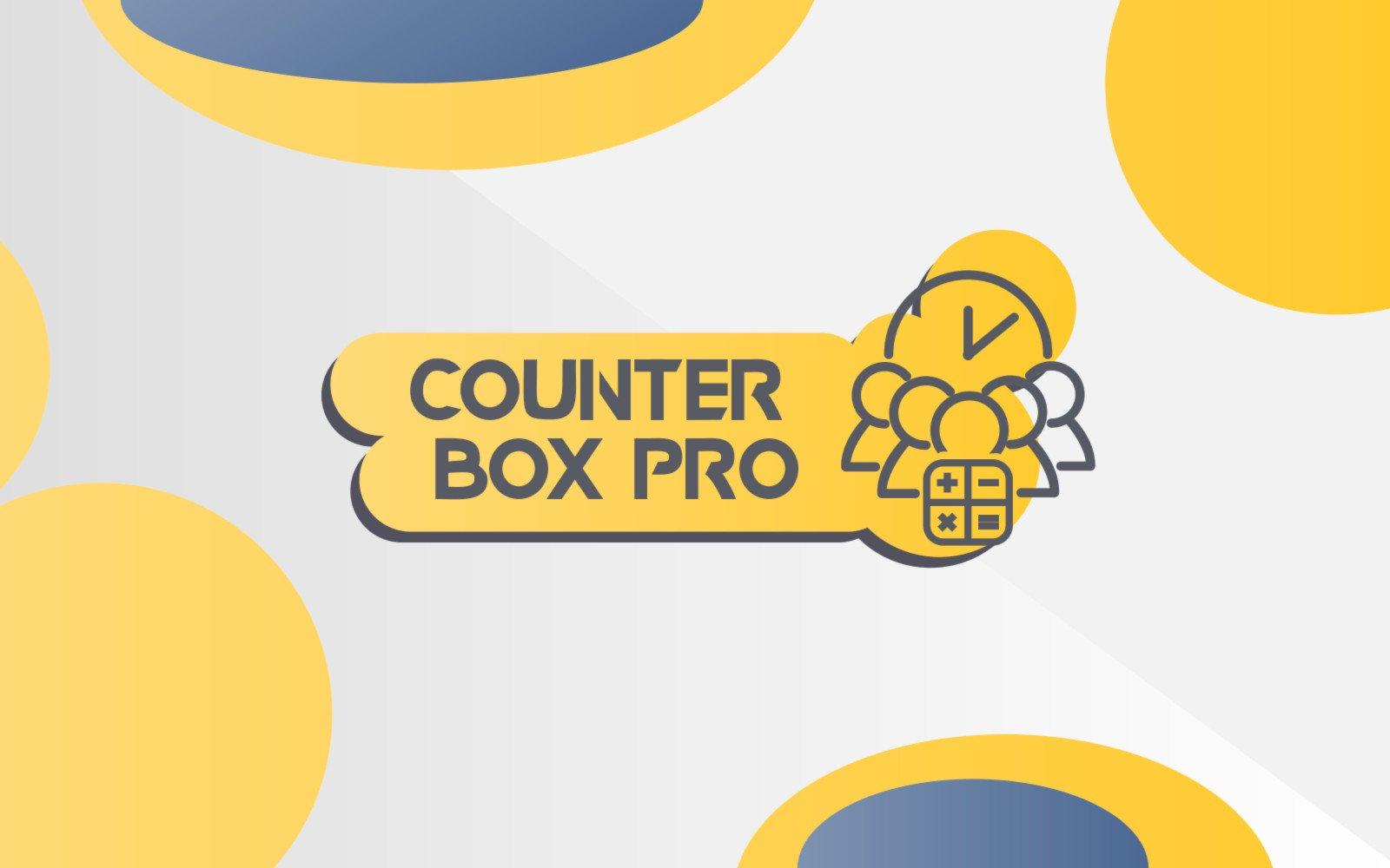 Counter Box Pro - Сountdown, Counter, Timer WordPress Plugin