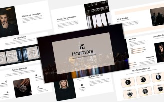 Harmoni - Creative Business - Keynote template