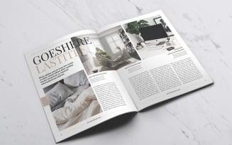 Lifestyle 2 Magazine Template