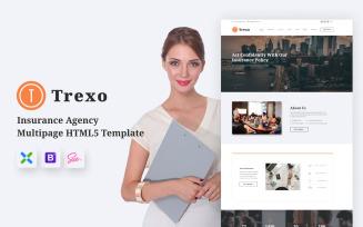 Trexo - Insurance Agency HTML5 Website Template
