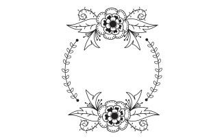 Circle Decorative Frame