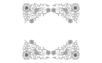 Decorative Hand Drawn Frame