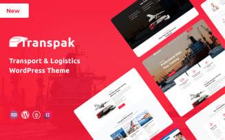 Transpak - Transport and Logistics Responsive WordPress Theme