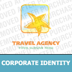 Travel Corporate Identity Template 14903