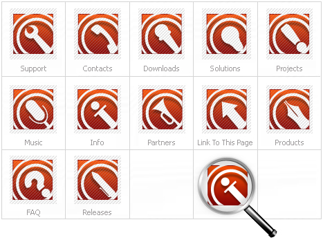 Icon Set Template 14934 Screenshots