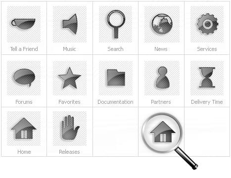 Icon Set Template 14975 Screenshots