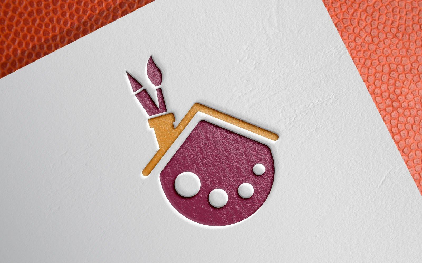 Drawing Palette House Template de Logotipo №149061