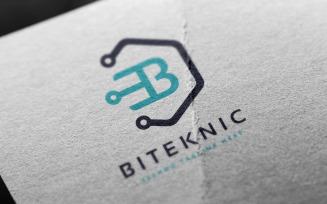 Biteknic Letter B Logo Template