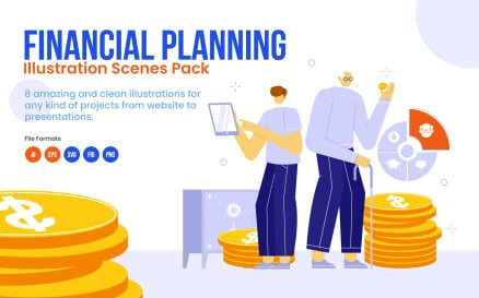 Financial Planning Pack Illustration