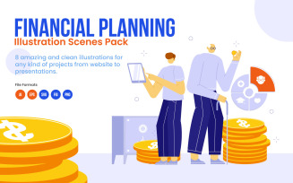 Financial Planning Pack - Illustration