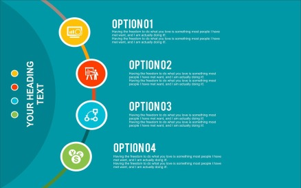 Banner Template Infographic Element