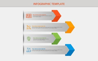 Design Banner Infographic Elements