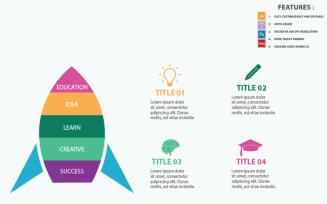 Education Concepts Vector Design Infographic Elements
