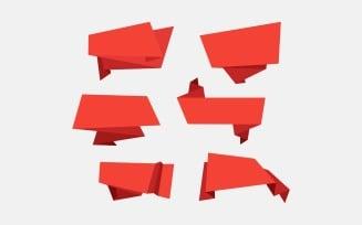 Ribbon Design Infographic Elements