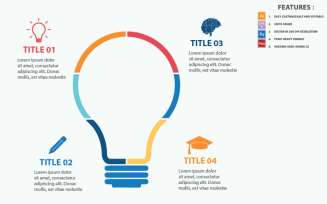 Your Idea Concepts Vector Design Infographic Elements