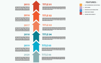 Abstract Timeline Vector Design