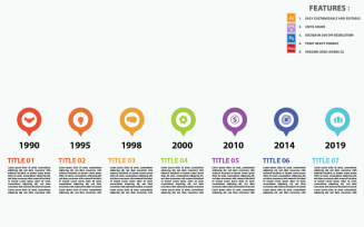 Timeline Concepts Vector Design