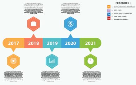 Timeline Concepts Vector Design Infographic Element