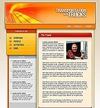 denver style site graphic designs transport truck trucks trucking road highway orange