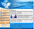 denver style site graphic designs church religion religious wave wavy blue sea seaside ocean dove