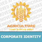 Agriculture Corporate Identity Template 15009