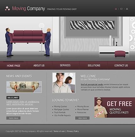 Propriul site companie de mutat