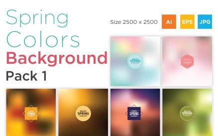 Spring Color Pack 1 Background