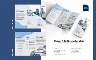 Business Brochure Trifold PSD