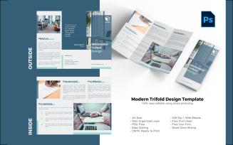 Minimalist Trifold Brochure