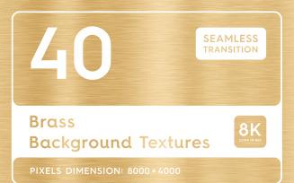 40 Brass Textures Background