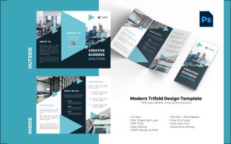 Creative Business Trifold Brochure