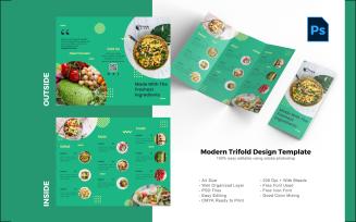 Vegan Trifold Brochure