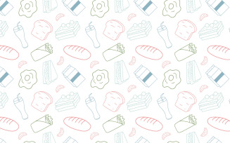 Doodle Snack Seamless