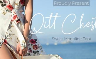 Qitt Chesta Font