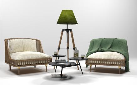 Furniture Set 0206 Model