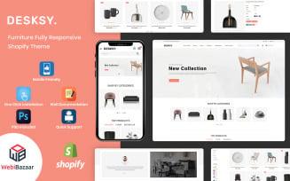 Desksy - Modern Furniture Responsive Shopify Theme