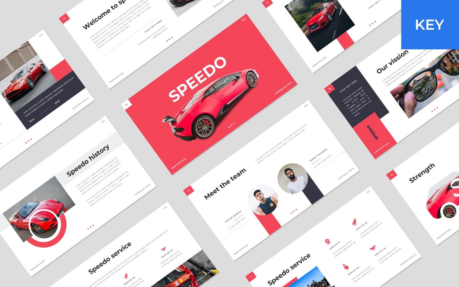 "Tema Keynote #150816 ""Speedo - Car"""