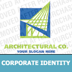 Architecture Corporate Identity Template 15156