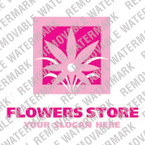 Flowers Logo  Template 15159