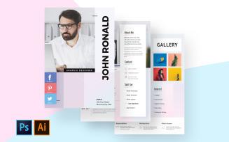 Graphic Designer CV