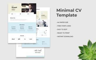 Minimal CV
