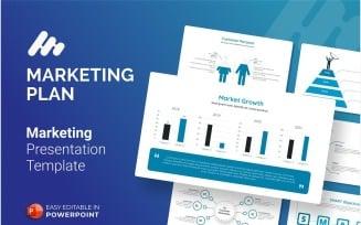 Marketing Plan Presentation PowerPoint template