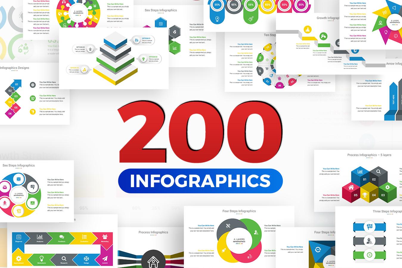 Premium Infographics Template PowerPoint №151192