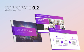 Corporate 0.2 Keynote Template