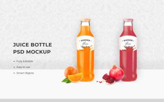 Juice Bottle Product Mockup