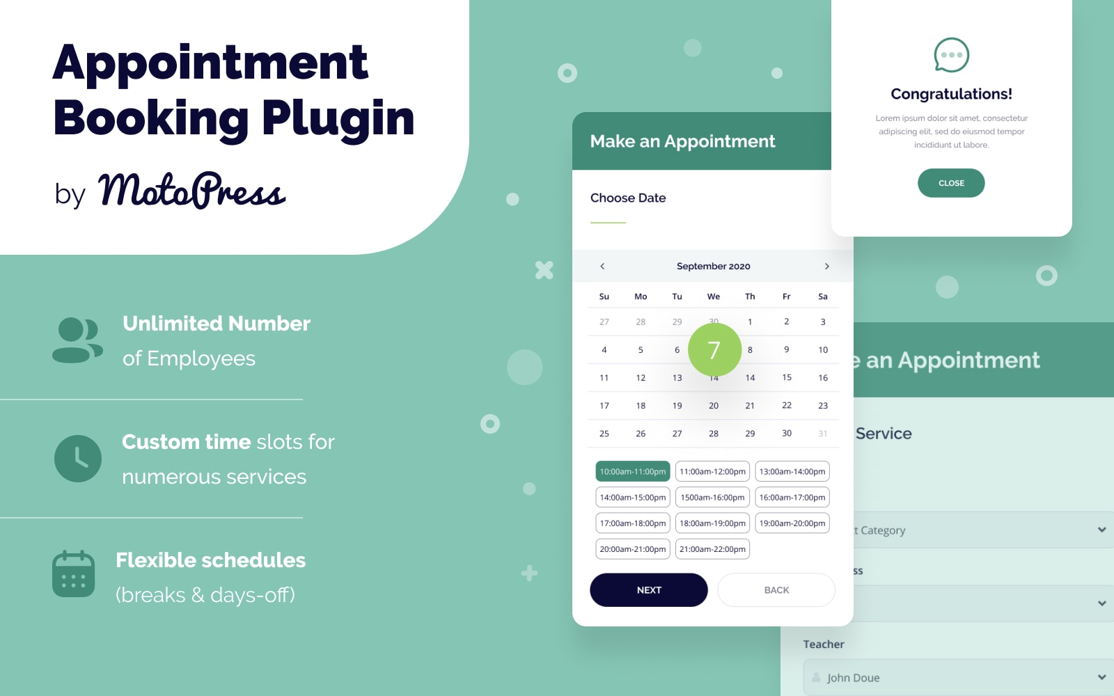 Appointment Booking WordPress Plugin Plugin WordPress №151673