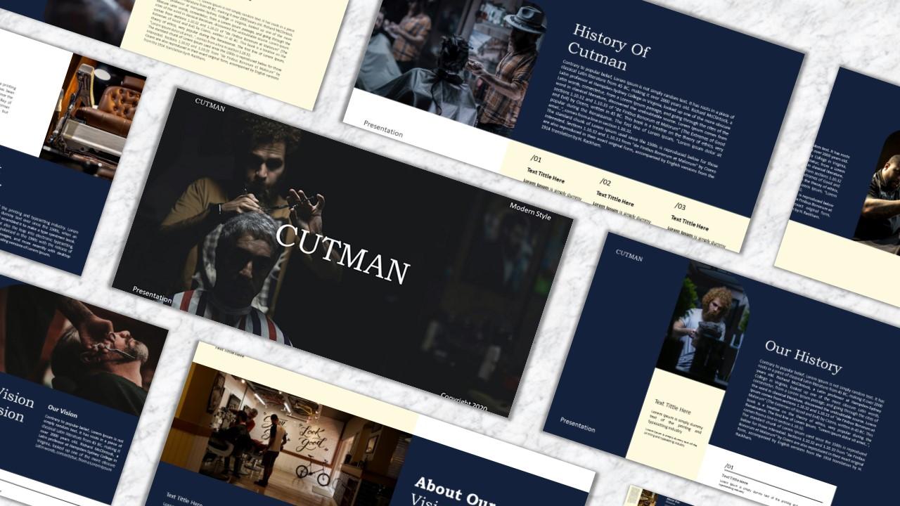 """Modello Keynote #151601 """"Cutman"""""""
