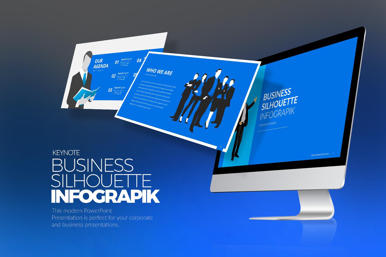 "Modello Keynote #151604 ""Business Infographic"""