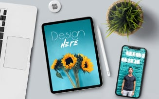 Tablet product mockup
