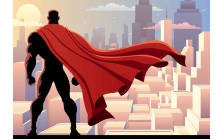 Superhero Watch 2 Illustration